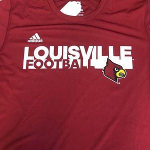 Louisville Cardinals Football Youth T-Shirt Med